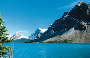 Landschaft des Banff Nationalparks
