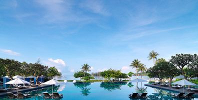 Infinitypool des The Danna Langkawi Hotels - Malaysia