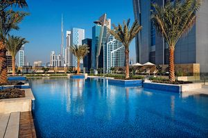 Swimmingpool - JW Marriott Marquis Dubai