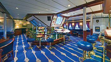 Bar an Bord der Star Clipperl - Thailands Inselwelt mit der Star Clipper
