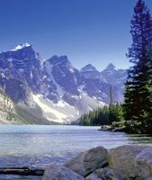 Moraine Lake im Banff Nationalpark