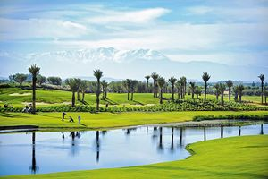 Golfplatz im Fairmont Royal Palm Marrakesch - Marokko