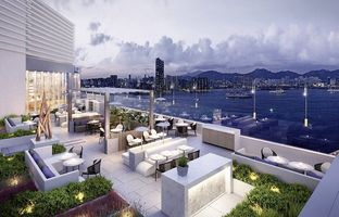 Dachterrasse vom VIC on the Harbour - Hongkong