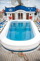 Pool an Deck der Star Clipperl - Thailands Inselwelt mit der Star Clipper