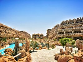Resortüberblick - Caves Beach Resort - Hurghada - Ägypten