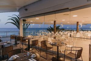 Restaurantterrasse am Abend - Don Gregory by Dunas - Gran Canaria - Spanien