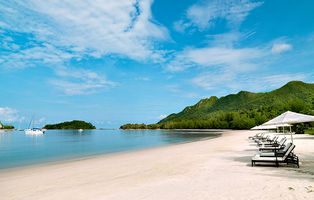 Strand des The Danna Langkawi Hotels - Malaysia