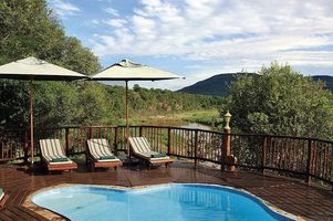 Swimmingpool im Mkuze Falls Private Game Reserve - Suedafrika
