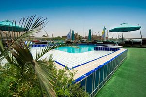 Swimmingpool an Deck - MS Grand Palm - Nilkreuzfahrt - Ägypten