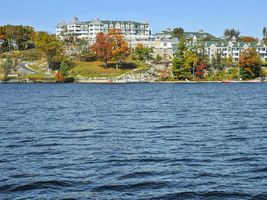 Lage am Lake Rosseau - JW Marriott The Rosseau Muskoka Resort & Spa - Kanada