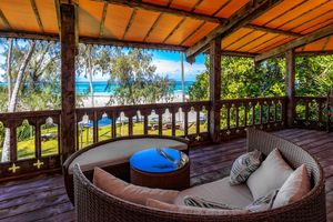 Balkon der Ocean View Superior Suite - The Sands at Nomad - Kenia