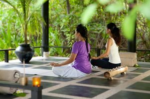 Meditation im Spa - The Sun Siyam Iru Fushi - Malediven