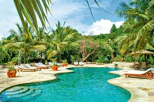 Poolbereich im The Sands at Chale Island - Kenia