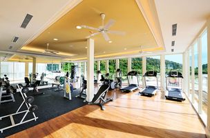 Fitnessstudio des The Danna Langkawi Hotels - Malaysia