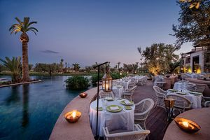 Restaurant L'Olivier im Fairmont Royal Palm - Marrakesch - Marokko