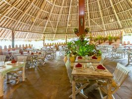 Restaurant im The Sands at Chale Island - Kenia