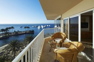 Marriott Beach Hurghada - Balkon