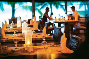 Restaurant des Diamonds Athuruga Beach & Water Villas