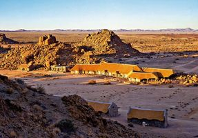 Blick auf die Lodge - Canyon Village - Fish Rover Canyon - Namibia