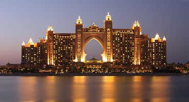 Atlantis the Palm am Abend - Dubai