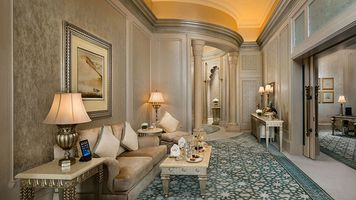 Lounge in der Palace Suite - Emirates Palace - Abu Dhabi