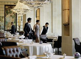 Restaurant des Four Seasons Hotel Hongkong