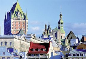 Chateau Frontenac Afitz in Quebec City