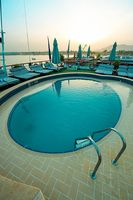 Swimmingpool an Deck - MS Grand Sun - Nilkreuzfahrt - Ägypten