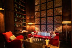 Le Bar im Fairmont Royal Palm in Marrakesch - Marokko