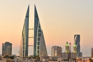 World Trade Center von Manama - Bahrain