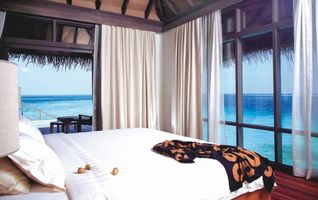 Zimmer mit Meerblick Coco Bodu Hithi Malediven