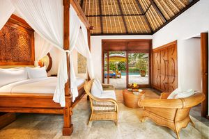 Blick ins Zimmer - The Oberoi Bali