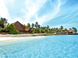 Am Strand robinson club maldives malediven