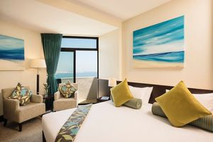 Family Two Bedroom Sea View Zimmer im JA Jebel Ali Beach Hotel - VAE