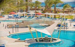 Sea Shark Swimup Poolbar - Amarina Abu Soma Resort & Aquapark - Aegypten