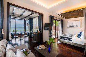 Two Bedroom Presidential Beachfront Pool Villa im Peace Resort - Thailand - Koh Samui
