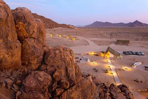 Desert Quiver Camp Namib Naukluft Nationalpark - Anlage