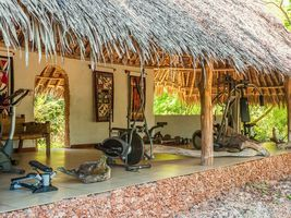 Fitnessraum im The Sands at Chale Island - Kenia