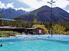 Heisse Quellen - Fairmont Hot Springs Resort - Kanada