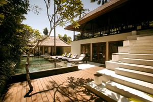 Pool Kayumanis Private Villa & Spa Nusa Dua bali