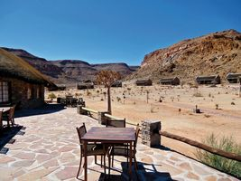 Restaurantterrasse - Canyon Village - Fish Rover Canyon - Namibia
