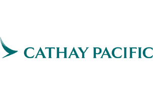 Logo der Fluggesellschaft Cathay Pacific