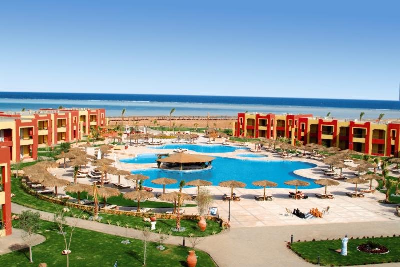 Magic Tulip Beach Resort Marsa Alam - Hotelanlage