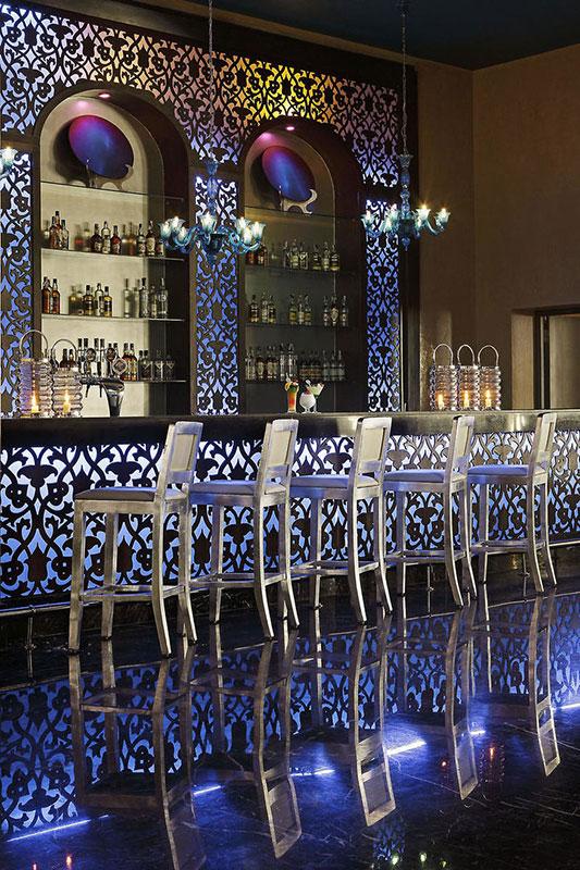 Gemütliche Bar im Jaz Aquamarine - Ägypten - Hurghada