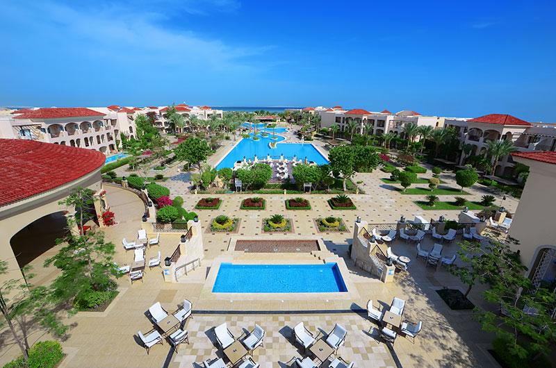 Blick auf den Innenbereich des Jaz Aquamarine - Ägypten - Hurghada