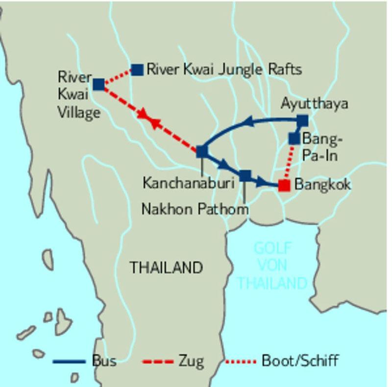 Thailand zum kennenlernen tui
