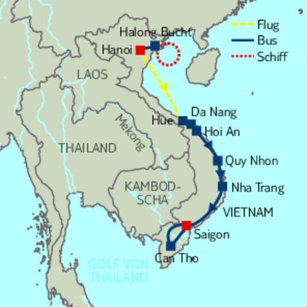 gro e rundreise vietnam rundreisen vietnam siamar reisen. Black Bedroom Furniture Sets. Home Design Ideas